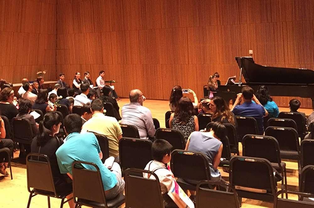 Piano Recital in NYC