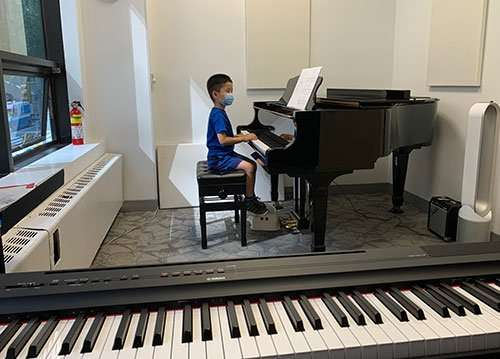 Piano Lesson Social Distance NYC